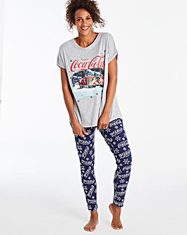 Coca Cola Legging Set