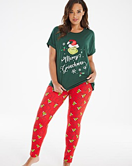 Grinch Legging Set