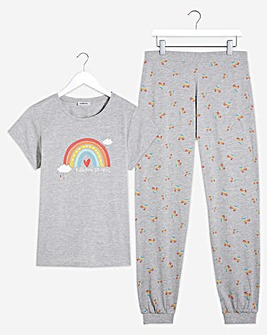 Pretty Secrets Rainbow Pyjama Set