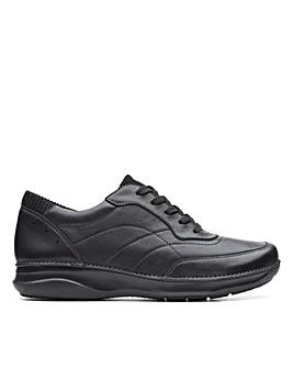 Clarks Appley Tie Standard Fitting Shoes