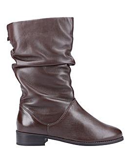 Dune Rosalindas Ruched Calf Boots