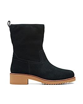 Clarks Eden Mid Hi Wide Fitting Boots