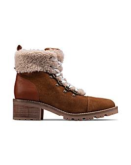 Clarks Roseleigh Sky Standard Fitting Boots