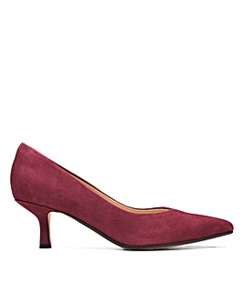 Clarks Violet55 Court Standard Fitting Shoes