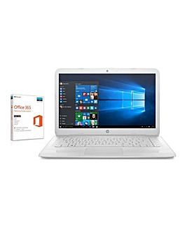 "HP 14"" Intel 4G 32GB Win10 FreeOffice365"