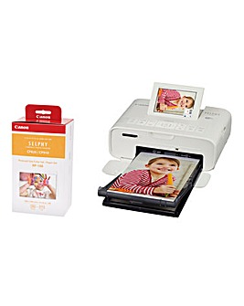 Canon Selphy CP3100 Wireless Photo Printer With 108 Paper Set