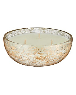 Gold Jasmine Bowl Candle