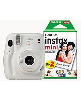 Fujifilm Instax Mini 11 Instant Camera - Includes 20 Sots