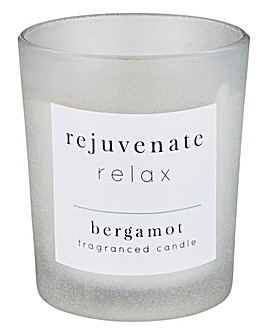 Rejuvenate Relax Bergamot Candle