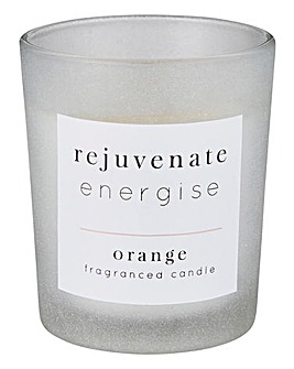 Rejuvenate Energise Orange Candle