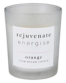 Rejuvenate Energise Orange Candle