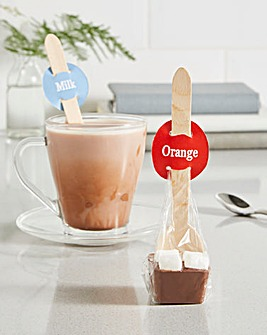 Hot Chocolate Spoon Duo