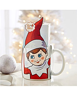 Elf on a Shelf Mug and Box