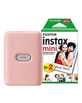 Fujifilm Instax Mini Link Wireless Photo Printer with 20 Shots