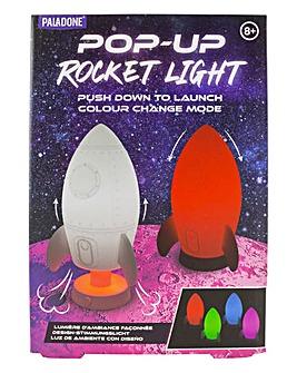 Pop Up Rocket Light