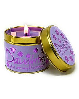 Daughter Candle Tin