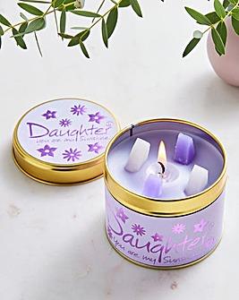Daughter Candle Tin