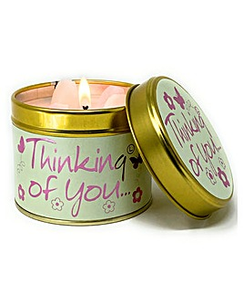 Thinking of You Candle Tin