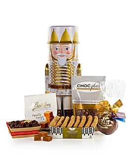 Nutcracker Chocolate Treats Tin