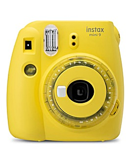 Fujifilm Instax Mini 9 Instant Camera - Including 10 Shots