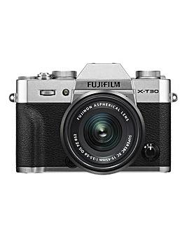 Fujifilm X-T30 Camera XC 15-45mm Lens Kit