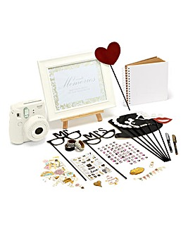 Fujifilm Instax Mini 9 Instant Camera Wedding Bundle - Inc. 60 Shots