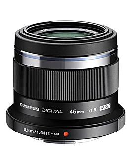 Olympus M.Zuiko Digital 45mm 1:1.8 Camera Lens for Olympus PEN
