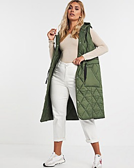 Adjustable Quilted Gilet
