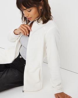 Cream Fleece Jacket