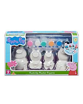 Peppa Pig Paint Up Plaster Figures