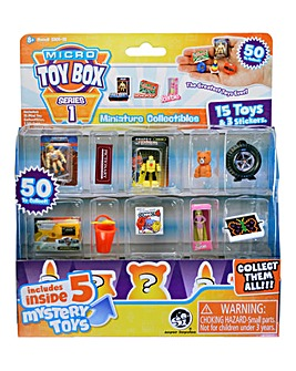 Micro Toy Box 15 Pack