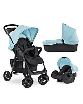 Hauck Shopper Trio Set Travel System - Blue