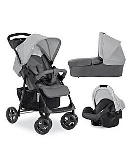 Hauck Shopper Trio Set Travel System- Grey