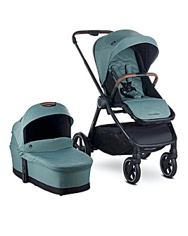 Easywalker Rudey Pushchair & Carrycot - Forest Green