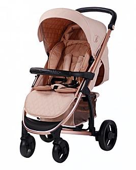 My Babiie Signature Range Billie Faiers Rose Gold Blush Lightweight Stroller