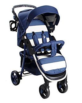 My Babiie Signature Range Billie Faiers Blue Stripes Pushchair