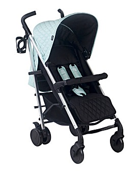 My Babiie Signature Range Billie Faiers Quilted Aqua Lightweight Stroller