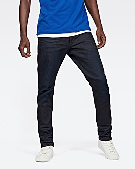 G-Star RAW Dark Aged 3301 Straight Tapered Fit Jean