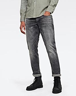 G-Star RAW Faded Bullit 3301 Straight Tapered Fit Jean