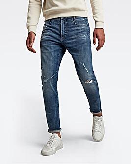 G Star RAW Faded Baltic Sea D-Staq 3D Slim Fit Jean