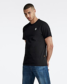 G-Star RAW Black Badge Logo T Shirt