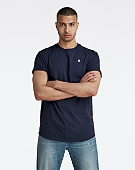 G-Star RAW Sartho Blue Lash Round Neck T Shirt