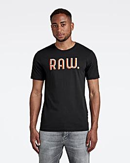 G-Star RAW Black 3D Raw Slim T Shirt