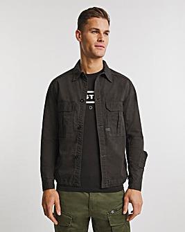 G-Star RAW Black 2 Pocket Relaxed Overshirt
