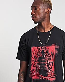 Freddie Krueger Black T-Shirt