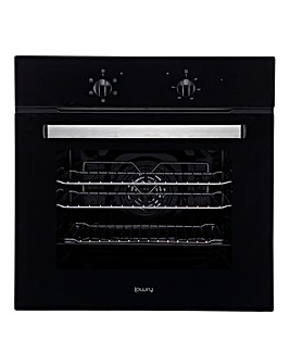 Lowry Black 65L Built In Electric Oven