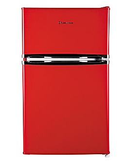 Russell Hobbs RHUCFF50R U/C Red Fridge Freezer