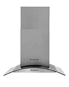 Russell Hobbs Steel Glass Cooker Hood