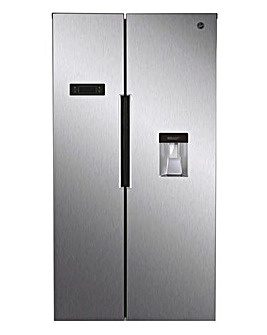 Hoover HHSBSO 6174XWDK American Fridge Freezer Stainless Steel + INSTALL