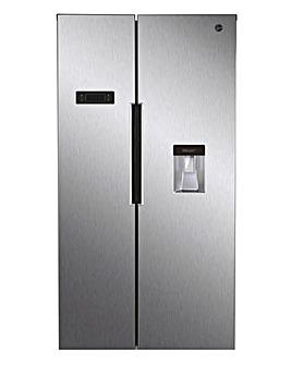 Hoover HHSBSO 6174XWDK American Fridge Freezer Stainless Steel